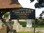 All Saints Church Kirby On The Moor